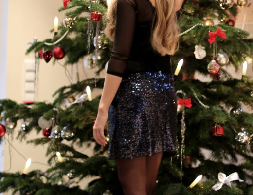 newyear silvester berlin party friends fashionblogger outfit glitzer