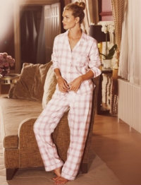 Rosie for Autograph, Luxury Woven Checked Revere Pyjamas