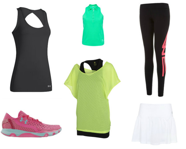Sportswear collage
