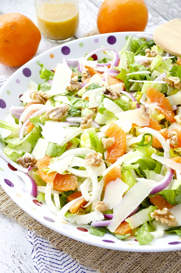Fennel and Orange Salad - Fashionable Foods