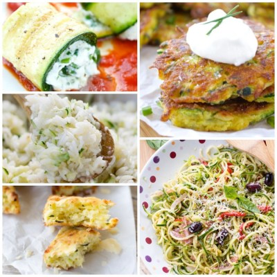 Top 5 Zucchini Recipes