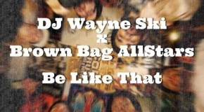 DJ Wayne Ski – Be Like That f. Brown Bag Allstars