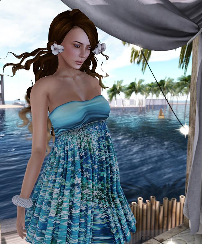 Styles by Danielle Penny in Aqua