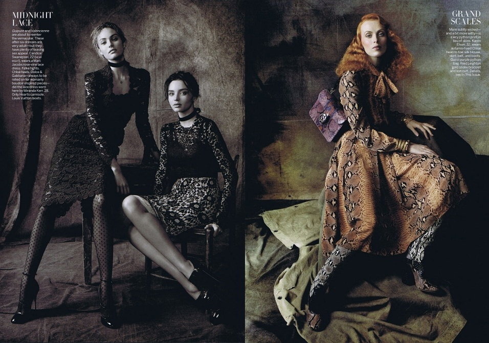 Steven Meisel for Vogue