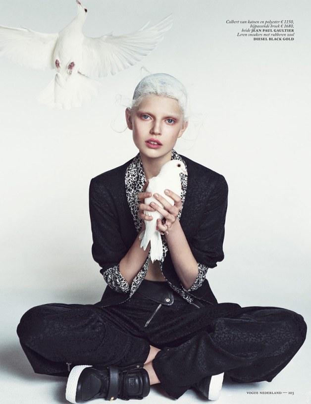 Ola Rudnicka for Vogue