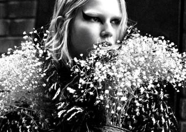 Anna Ewers 'Rebel Flower' Willy Vanderperre for V Magazine