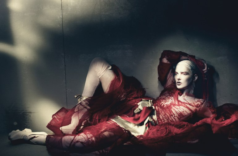 Kate Moss by Paolo Roversi for W Magazine 7