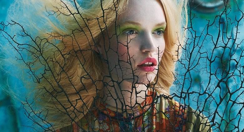 'Tutte In Fiore' for Glamour Italia 11