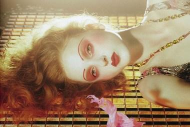 Madison Stubbington by Miles Aldridge for Vogue Italia September 2015 2