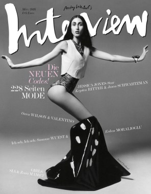 Anna Cleveland Cover Interview Germany 0316