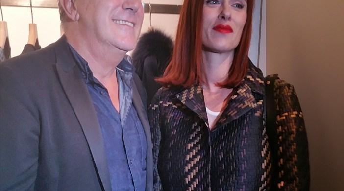Soirée Parosh -  Paolo Rossello et Audrey Fleurot