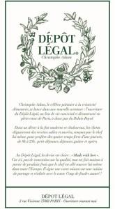 Le Dépot Légal Restaurant