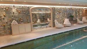 Hôtel de Crillon, Paris - la piscine, 2017