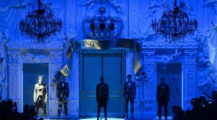 Défilé Hommes Dolce & Gabbana automne hiver 2018 - 2019