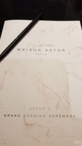Maison Astor - Paris 8