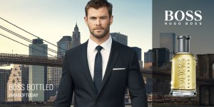 Hugo Boss parfums, Chris Hemsworth