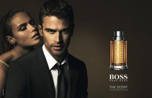 Hugo Boss parfums, Theo James & Natasha Poly