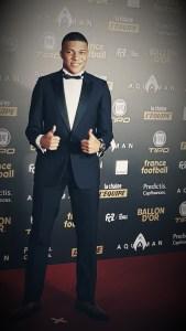 Ballon d'Or 2018 au Grand Palais - Kylian Mbappé