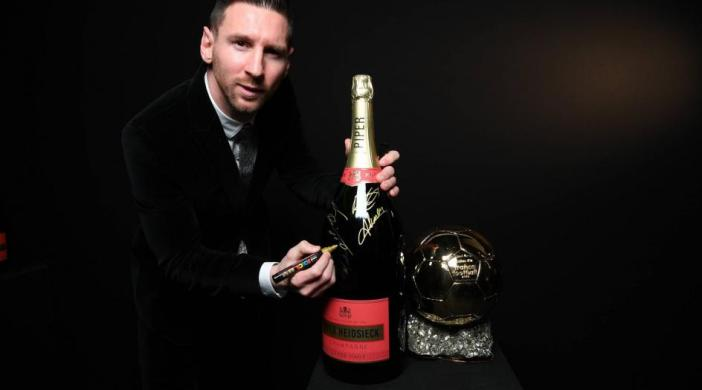 Ballon d'Or 2019 - Piper Heidsieck / Lionel Messi