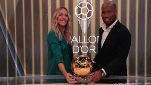 Ballon d'Or 2019 - Sandy Heribert et Didier Drogba