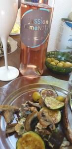 Vin rosé Gamay, Domaine de la Tourette, Passionément Vins