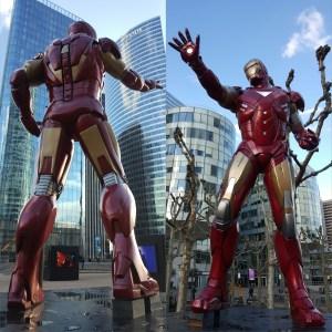 Iron Man - La Défense Paris