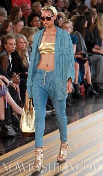 TOPSHOP UNIQUE spring 2012 FashionDailyMag sel 3 NowFashion london fash week