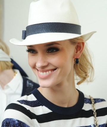 backstage KATE SPADE ss12 beauty by jouer on FashionDailyMag