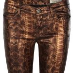 ALL SAINTS jeans reptile FashionDailyMag loves