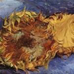 Image 2 van gogh sunflower phila museum FashionDailyMag