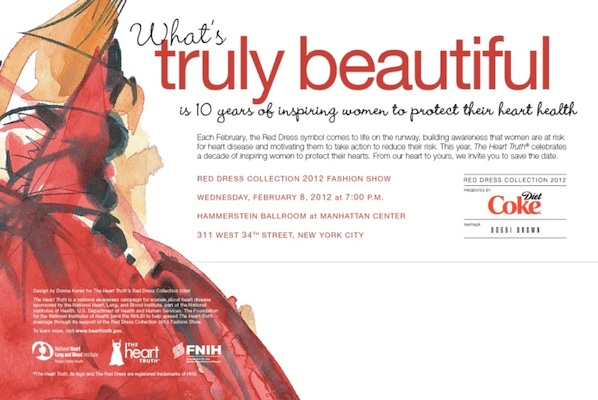 HEART TRUTH RED DRESS 2012 FASHION WEEK NY ON FASHIONDAILYMAG