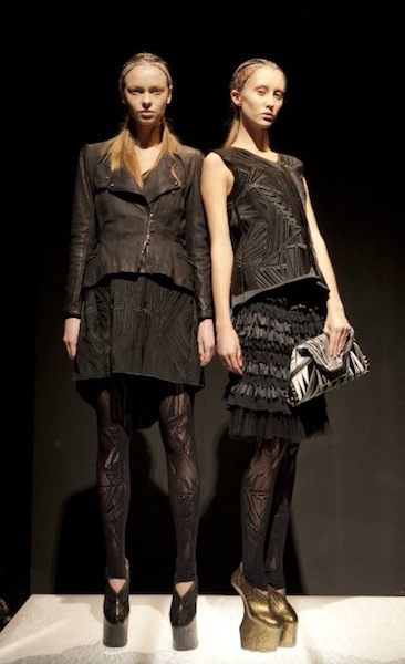 LEATHER JAPAN FALL 2012 FASHIONDAILYMAG LOVES SEL 1