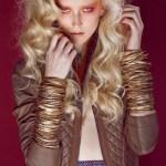 spring fierce editorial stylist dixi romano model anu koski on FashionDailyMag