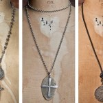 Shannon Koszyk jewelry ave maria necklace and vertebrae rosary FashionDailyMag
