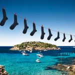 BLACK SOCKS mercerized cotton mens socks FashionDailyMag