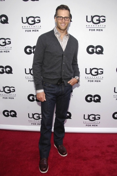 UGG for Men Grand Opening With Tom Brady on FashionDailyMag