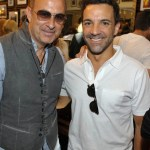 John Varvatos Event 2012 John Varvatos and George Kotsiopoulos FashionDailyMag Selects