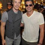 John Varvatos Event 2012 Josh Henderson and Patrick Dempsey FashionDailyMag Selects 3