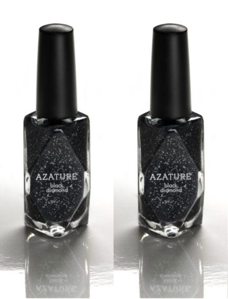 AZATURE black diamond  most expensive nail polish