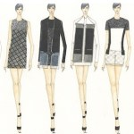Academy of Art University Spring 2013 Mercedes-Benz Fashion Week NY Yanfei Fan fashiondailymag selects