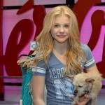 Chloe Grace Moretz shopping at aeropostaleTimes Square Store
