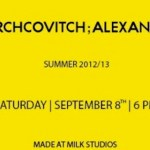 ALEXANDRE HERCHCOVITCH spring 2013 collection milk studios