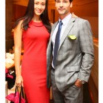 AsiasNTM + NYFW Kickoff Event April Wilkner ANTM Cycle 2 alum and Todd Anthony Tyler fashiondailymag