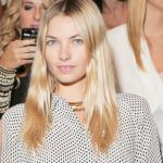 JESSICA HART front row at WHITNEY EVE by whitney port ss13 NYFW
