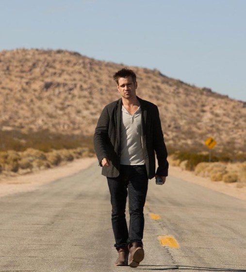 Colin Farrell wears Vintage Shoe Company in seven psychopaths