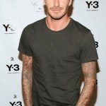 DAVID BECKHAM y-3 backstage spring 2013