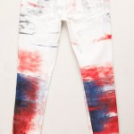 HUDSON 10 Year Anniversary Abstract Flag Jean on FashionDailyMag copy