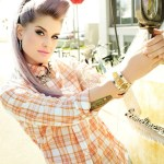 KellyOsbourne talks glamour
