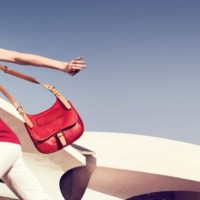 COCO ROCHA in longchamp spring campaign