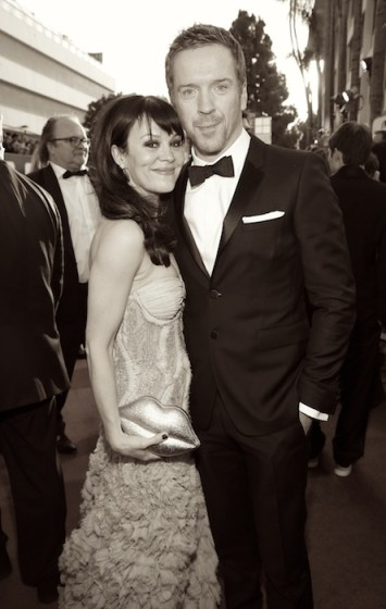 "damian lewis and wife Helen McCrory NBC's ""70th Annual Golden Globe Awards"" - Red Carpet Arrivals"